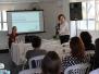 """2018 - Palestra: """"Recomeçar: a arte de se reinventar"""", com a terapeuta de análise bioenergética Selma Antunes Costa"""