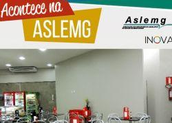 Cantina da Aslemg ganha novos ares