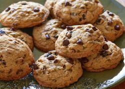 Receita | Biscoito de aveia com gotas de chocolate (Cookie)