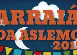 Arraiá da Aslemg 2015