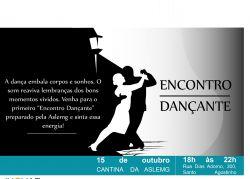 """Primeiro """"Encontro Dançante"""" da Aslemg Participe!"""