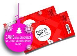 Ganhe um par de ingressos para a Festa de Natal dos Servidores!