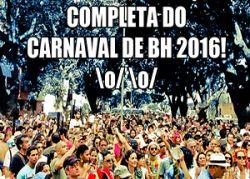 Programação Carnaval de BH 2016