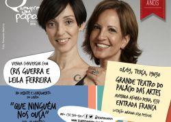 Leila Ferreira e Cris Guerra no Palácio das Artes