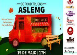 Primeiro Encontro de Food Trucks da Aslemg