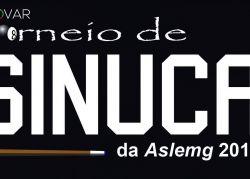 Torneio de sinuca da Aslemg. Inscreva-se!
