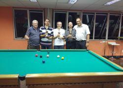Conheça os campeões do Torneio de Sinuca da Aslemg
