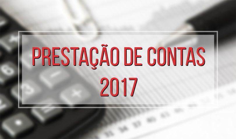 Resultado de imagem para PRESTAÇÃO DE CONTAS 2017